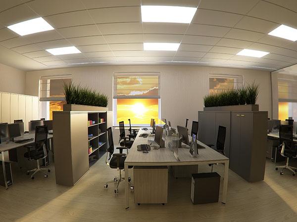 Văn phòng hiện địa thể hiện phong cách làm việc chuyên nghiệp