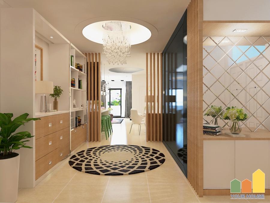 Thiết kế nội thất chung cư nhà anh Tuân khu đô thị Văn Phú