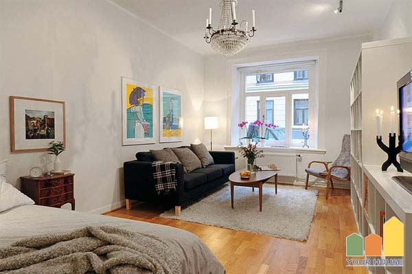 Mẫu thiết kế nội thất chung cư hiện đại