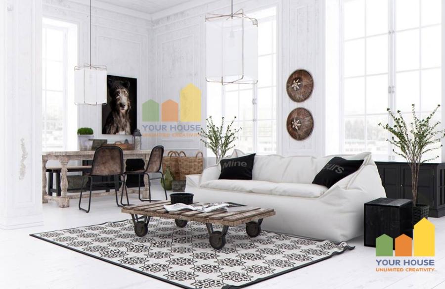 Mẹo thiết kế nội thất chung cư nhỏ