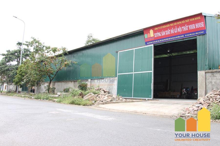 Xưởng sản xuất đồ gỗ nội thất tại Hà Nội
